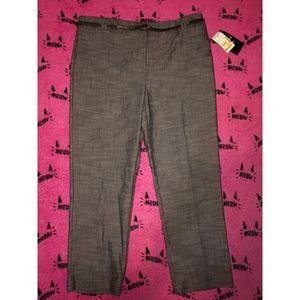 Women's grey dress pants